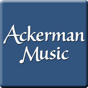 ackerman Blue background